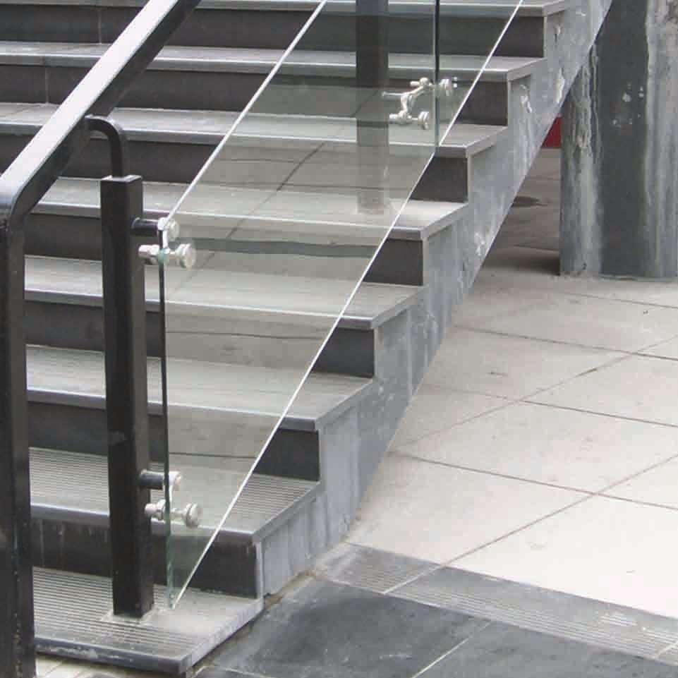 邯郸河北玻璃楼梯扶手护栏