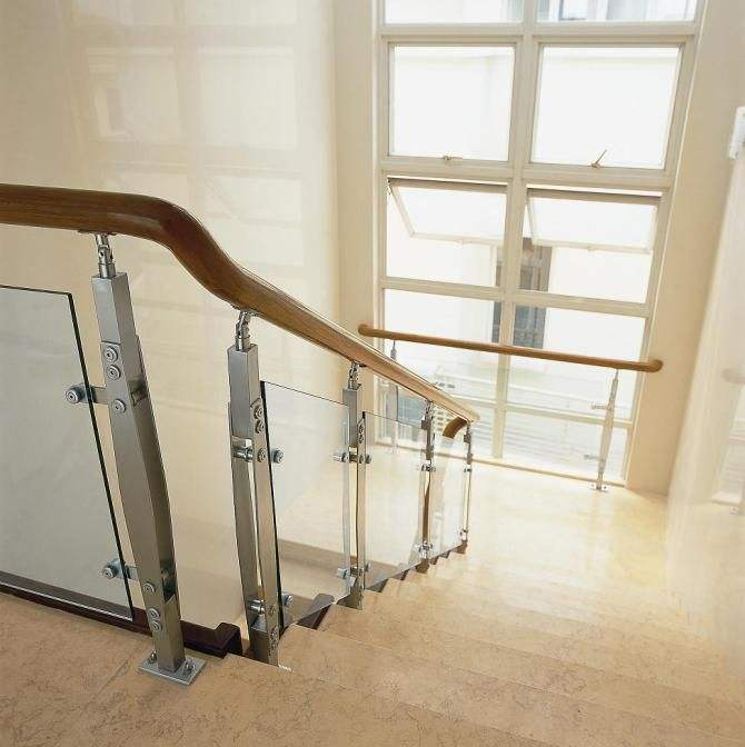 邯郸玻璃楼梯扶手护栏厂家