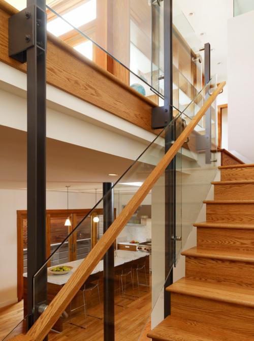 石家庄玻璃楼梯扶手护栏价格